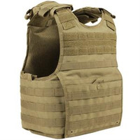 Condor Exo Plate Carrier -- Tan EPCXLTAN