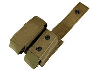 Condor Double 40mm Grenade Pouch - Tan MA13-003