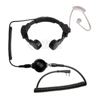 Code Red - Assault-K Tactical Throat Mic for Kenwood/Baofeng Radios