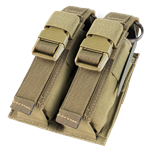 Condor Double Flashbang Pouch - Tan