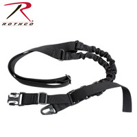 "Rothco Tactical Single Point Sling ""Black"""