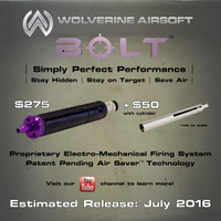 Wolverine Airsoft Bolt