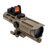 GEN3 USS 3-9X40 Scope w/Red Dot/MIL-DOT -- Tan