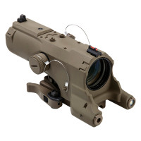 ECO MOD2 4X34 Scope w/GRN Laser/NAV LED /TAN