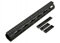 "MADBULL AIRSOFT VTAC BATTLE RAIL EXTREME SERIES 13"" IN BLACK"