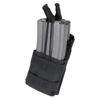 Single M4 Open-Top Stacker Mag Pouch BLK -MA42-002