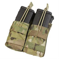 Tactical Molle Double M4 Mag Pouch - MC -- MA-008