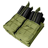 Double Stacker Open-Top M4 Mag Pouch- OD - MA43-001