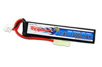 Tenergy 7.4V 1000mAh Li-Po Airsoft Stick Battery Pack