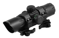 "UTG 6.4"" ITA Red/Green CQB T-Dot Sight with QD Mount Base - SCP-DS3068TDQ"