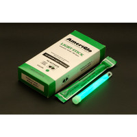 "Ameriglo 6"" 12hr. Green Light Stick -- Box"
