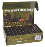 Elite Force 140rd Mid-Cap Magazine Black for M4/M16 AEG (10pc Box)