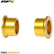 RFX Pro Wheel Spacers Rear (Yellow) Suzuki RMZ250 07-17 RMZ450 05-17