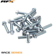 RFX M6 Flange Head Bolt Pack (25pcs)  M6 X Various