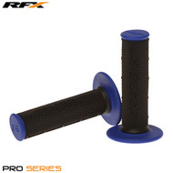 RFX Pro Series 20100 Dual Compound Grips Black Centre (Black/Blue) Pair