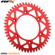 RFX Pro Elite Rear Sprocket Beta RR 250/300/350/450 Enduro 13-17 (Red) Various Sizes