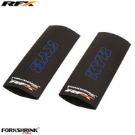 RFX Forkshrink Upper Fork Guard with KYB logo (Blue) Universal 125cc-525cc