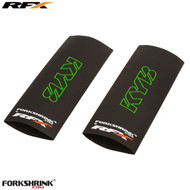 RFX Forkshrink Upper Fork Guard with KYB logo (Green) Universal 125cc-525cc