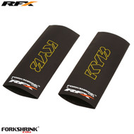 RFX Forkshrink Upper Fork Guard with KYB logo (Yellow) Universal 125cc-525cc