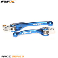 RFX Race Series Forged Flexible Lever Set (Blue) Yamaha YZ125/250 08-14 YZF250 07-08 YZF450 08 Kawasaki KXF250/450 13-17