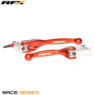 RFX Race Series Forged Flexible Lever Set (Orange) KTM SX65 04-11 SX85 03-12
