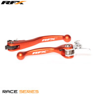 RFX Race Series Forged Flexible Lever Set (Orange) KTM All Models 125/150/200 09-13 SXF450 09-13