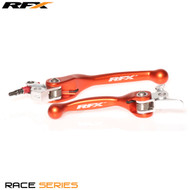RFX Race Series Forged Flexible Lever Set (Orange) KTM All Models 125/150/200 SXF450 05-08 EXC450 05-06 SXF/EXCF 525 05-06
