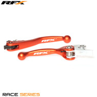 RFX Race Series Forged Flexible Lever Set (Orange) KTM SX125/150/200 14-15