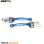 RFX Race Series Forged Flexible Lever Set (Blue)  Husqvarna TE250/300 2014 FE250/350/450/501 14-16