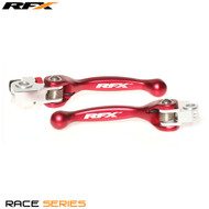 RFX Race Series Forged Flexible Lever Set (Red) Beta RR Enduro 2T 250/300 4T 350/400/450/498 13-17