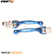 RFX Race Series Forged Flexible Lever Set (Blue) TM 125/250/250FI/450FI 02 13-17