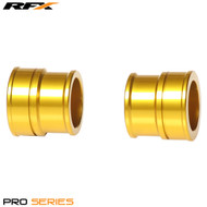 RFX Pro Wheel Spacers Front (Yellow) Suzuki RMZ250 07-17 RMZ450 05-17
