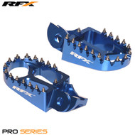 RFX Pro Footrests (Blue) Husqvarna TC125 / FC 250/350/450 16-17 (Not TE/FE 16)