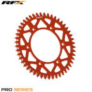 RFX Pro Series Elite Rear Sprocket KTM LC50 SX50 97-13 (Orange) Various Sizes