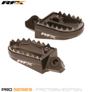 RFX Pro Series Shark Teeth Footrests (Hard Anodised) Suzuki RMZ250 10-17 RMZ450 10-17 (Exc 2011)