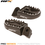 RFX Pro Series Shark Teeth Footrests (Hard Anodised) Yamaha YZ/YZF 125-450 99-17 Gas Gas EC 125-300 98-17