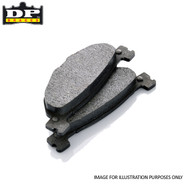 DP Brakes Scooter (Organic ODP Compound) Brake Pads - ODP017
