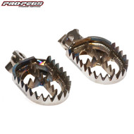 Pro Pegs Titanium MX Footrests (Ti) Yamaha YZ/YZF 125-450 99-17 Gas Gas EC125-300 All
