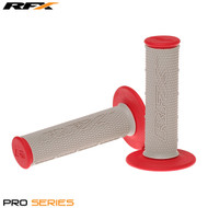 RFX Pro Series 20500 Dual Compound Grips Grey Centre (Grey/Red) Pair