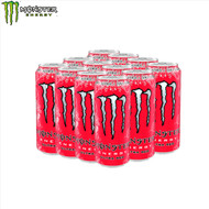 Monster Energy Drink (Ultra Red) Case 12 x 500ml
