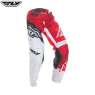Fly 2017 Kinetic Crux Youth Pant (Red/White/Black)