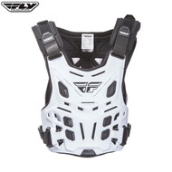 Fly Revel Chest Protector (White) Size Adult Universal