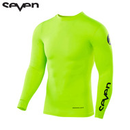 Seven MX 17.1 Zero Blade Adult Compression Jersey (Flow Yellow)