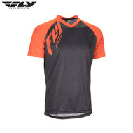 Fly Bike Action MTB Adult Jersey (Heather Black/Orange)