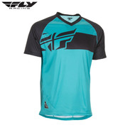 Fly Bike Action Elite MTB Adult Jersey (Teal/Black)