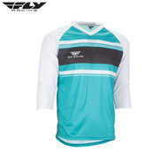 Fly Bike Ripa 3/4 MTB Adult Jersey (Teal/White)