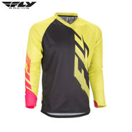 Fly Bike Radium MTB Adult Jersey (Black/Lime/Pink)