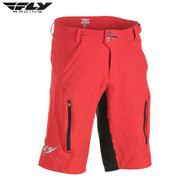 Fly Bike Warpath MTB Adult Short (Red/Black)