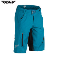 Fly Bike Warpath MTB Adult Short (Dark Teal/Black)