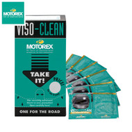 Motorex Viso-Clean 72pcs - 12 Packs Of 6 Wipes Per Pack